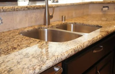 New Venetian Gold Granite | Kitchen