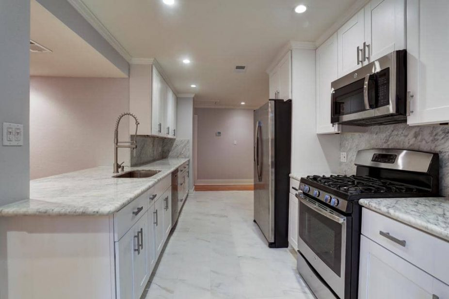 Marble Countertops Houston Kitchen Remodel